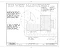 1213 West Main Street (House), Charlottesville, Charlottesville, VA HABS VA,2-CHAR,10- (sheet 1 of 5).png