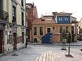 123 Plaza Periodista Arturo Arias (Cimavilla, Gijón), El Lavaderu i sidreria Trebole.jpg