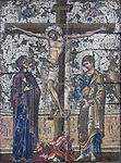 1290 Mosaikikone mit Kreuzigung Christi Bodemuseum anagoria.JPG