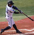 130317 Uchimura kensuke, infielder of the Yokohama DeNA BayStars, at Yokohama Stadium.JPG