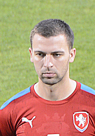 Josef Hušbauer - Hušbauer lining up for the Czech Republic in 2014