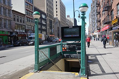 How to get to 14th Street & 5th Avenue with public transit - About the place