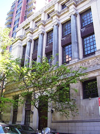 New York School of Applied Design for Women - Facade of the 160 Lexington Avenue building