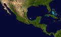 1853 Atlantic tropical storm 5 track.png