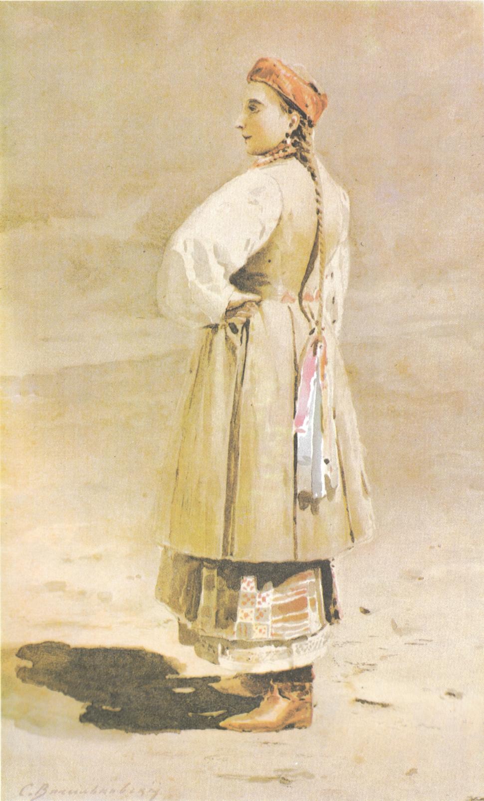 1900 - Kozachka by Vasylkivsky