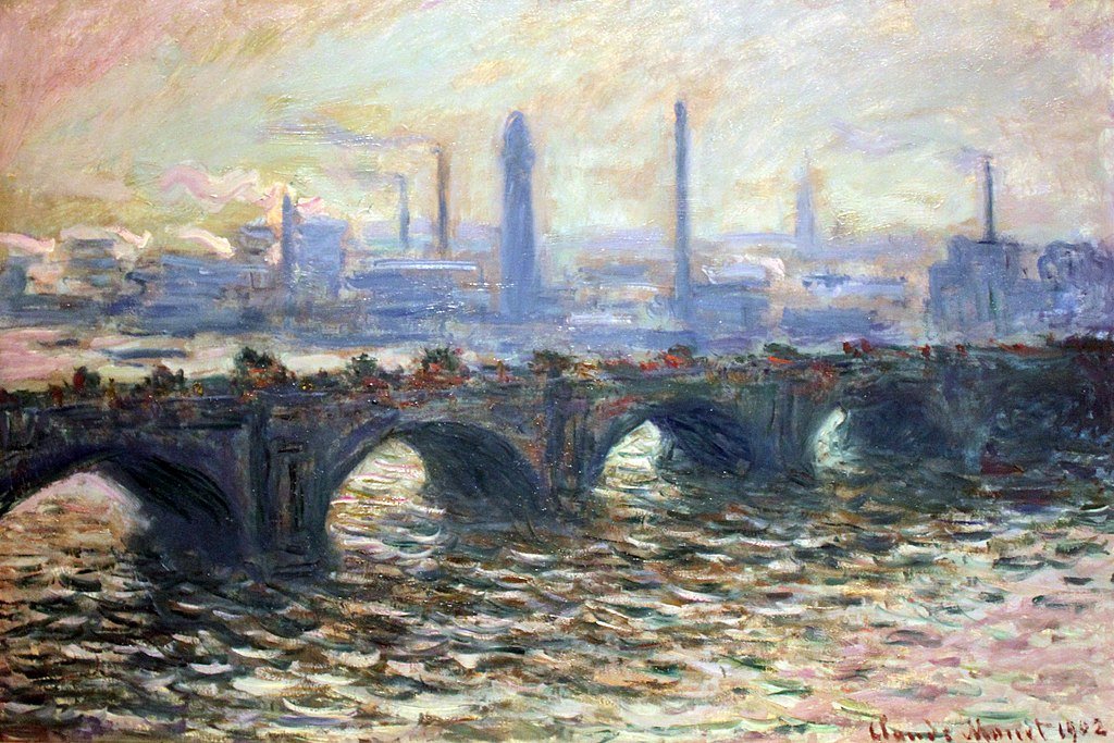 """Waterloo Bridge"" by Claude Monet – Joy of Museums"