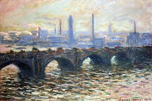Waterloo Bridge by Claude Monet