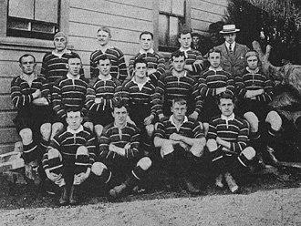 1904 British Lions tour to Australia and New Zealand - The British Isles team