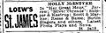1916 StJames theatre BostonGlobe January12.png