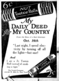 1918 Tootsie Roll newspaper ad.png