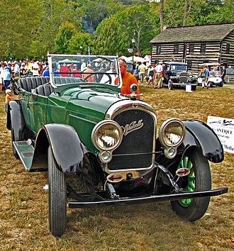 Westcott (automobile) - 1920 Wescott