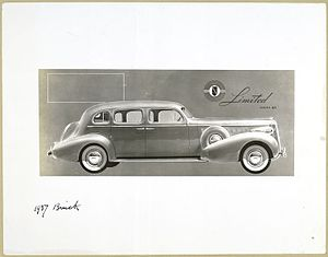 1937 Buick. Limited series - 90. (3593514158)