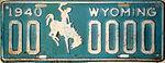 1940 Wyoming sample license plate.jpg