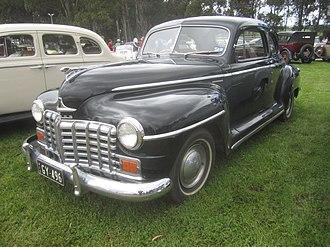 Dodge Custom - 1948 Dodge Custom 2-door Club Coupe