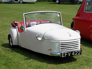 Bond Minicar - 1951 Bond Minicar Deluxe 2/3 seater Tourer