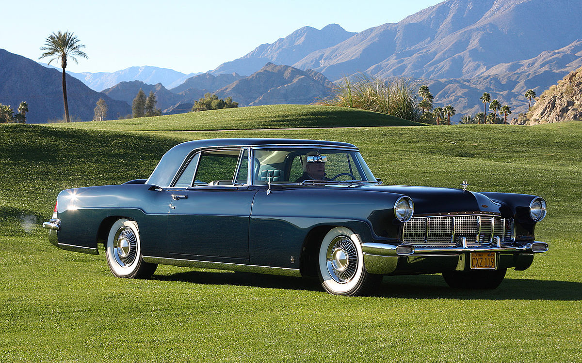 Px Continental Mark Ii Midnight Blue Fvr on 1955 Thunderbird Wiring