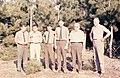 1965. L-R I. Miller, Tom Silver, Wilson, Bill Miller, Benton Howard, D. Hopkins. Michigan. (35260691113).jpg