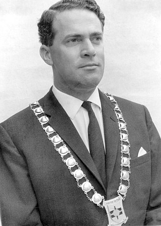 Gaborone - Rev. Derek Jones, the first mayor of Gaborone