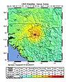 1983 Guinea earthquake intensity map.jpg
