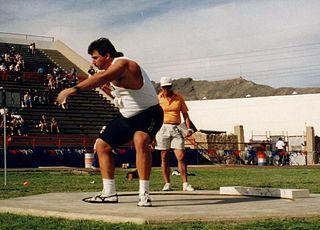 Randy Barnes American shot putter