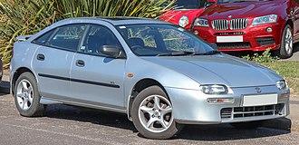 Eunos (automobile) - Image: 1998 Mazda 323F Imola 1.5 Front