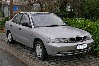Daewoo Nubira Motor vehicle