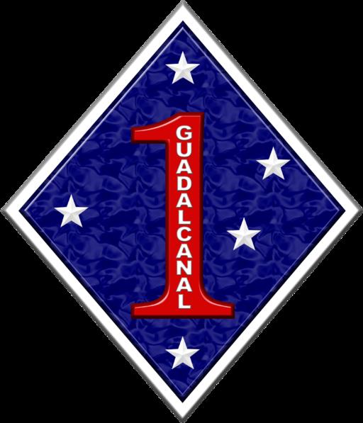1st MARDIV 2 insignia