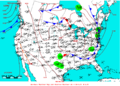 2007-06-20 Surface Weather Map NOAA.png