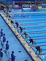 2008 Olympic Modern penthalton - swimming action2.JPG