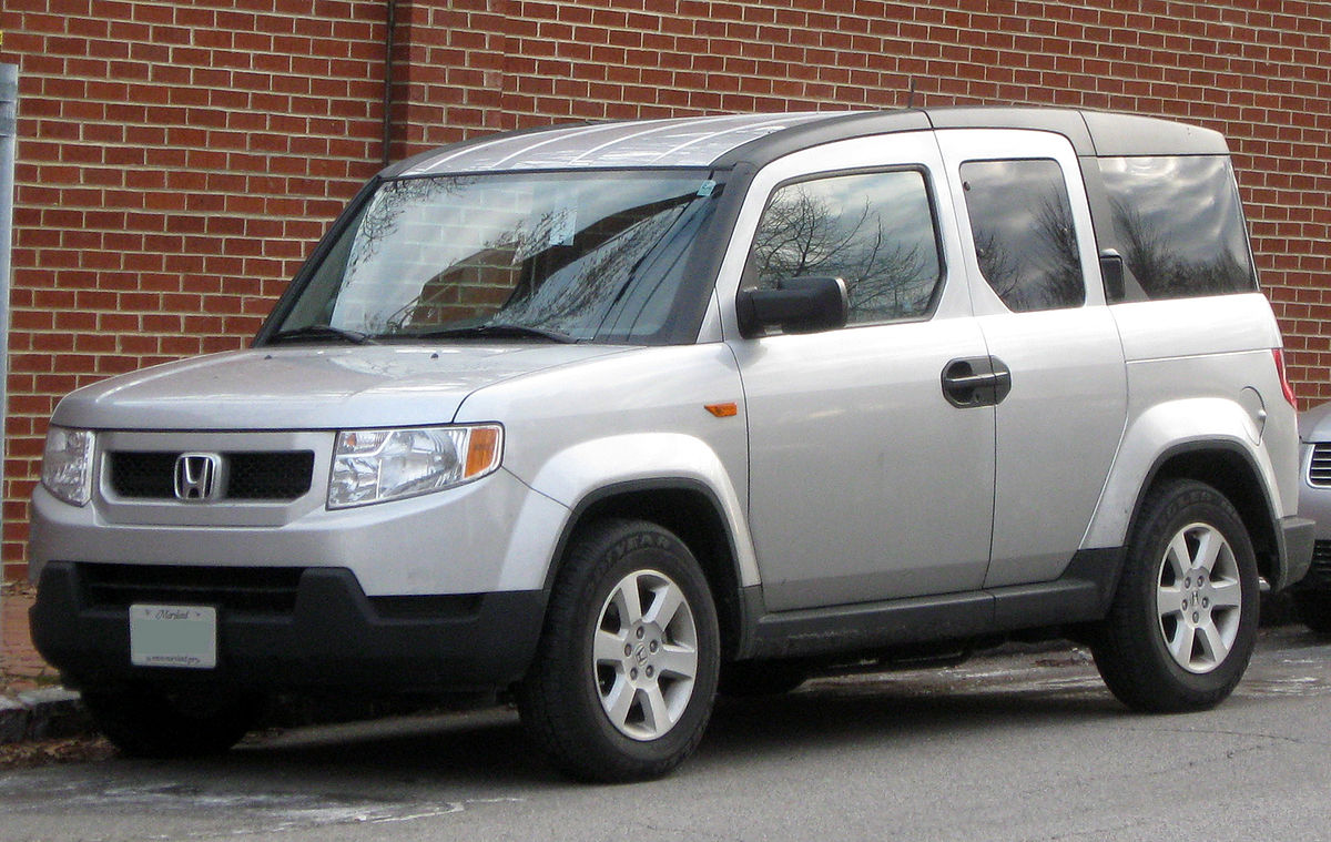 Honda element wikipedia wolna encyklopedia for Honda element dimensions