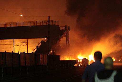 2009 Viareggio train explosion 01