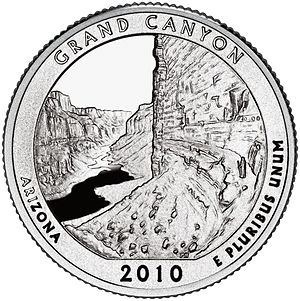 America the Beautiful Quarters - Grand Canyon quarter