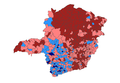 2010 Brazilian presidential election results - MinasGerais.PNG
