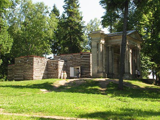 Берёзовый домик и портал «Маска»