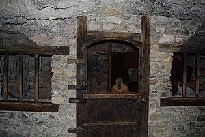 Beatenberg - Saint Beatus' cell in the Beatushöhlen