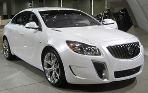 2011 Buick Regal GS photographed at the 2010 W...