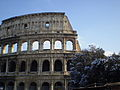 2012-02-04 Snow on Colosseum in Rome.JPG