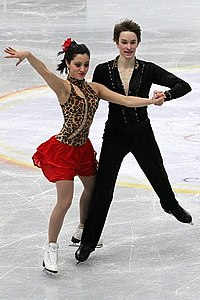 2012 World Junior FS Sara Aghai Jussiville Partanen.jpg