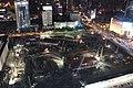 20131129 杭州大厦顶部观看武林广场工地.JPG