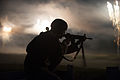 2013 US Army Reserve Best Warrior Competition, M4 rifle night fire 130626-A-XN107-398.jpg