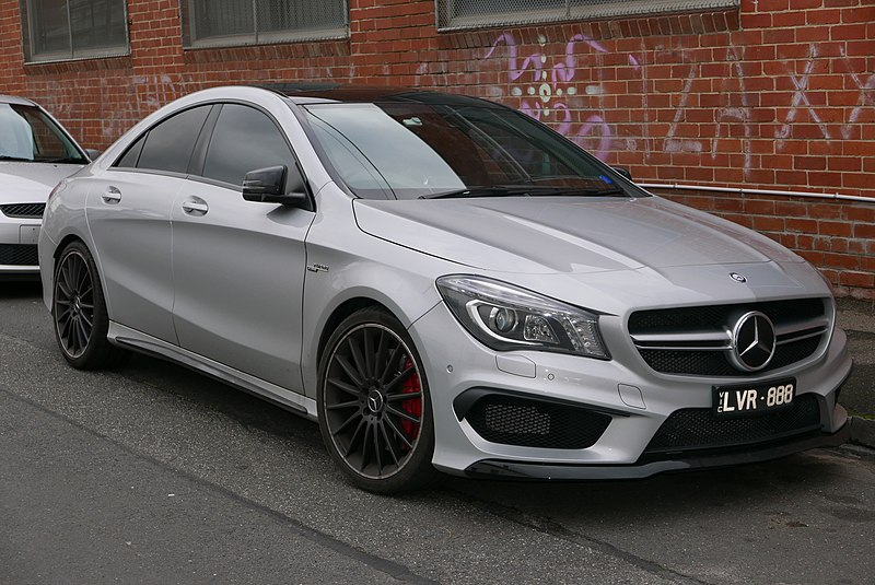 File:2014 Mercedes-Benz CLA 45 AMG (C 117) 4MATIC sedan (2015-07-15) 01.jpg