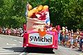 2014 Tour de France. Caravane St. Michel 4. Free image Spielvogel. Zero copyright.jpg
