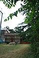 2014 giu Villa Pellegrini Marioni Pullè, Chievo, Verona, photo Paolo Villa facade, Doric - Tuscan order, wings, pilaster strip, door, stairs 07a FOTO6358.JPG