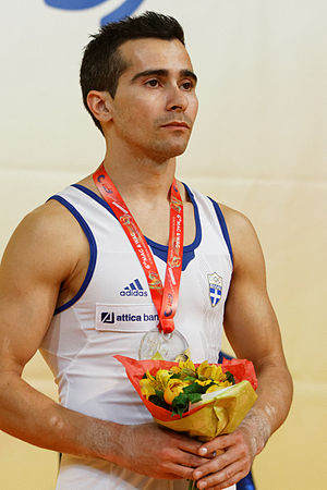 Vlasios Maras - Vlasios Maras with his bronze medal from the 2015 European Championships