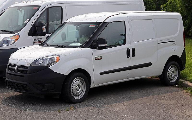2015 Ram ProMaster City Tradesman Cargo Van, front left.jpg