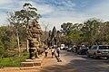 2016 Angkor, Angkor Thom, Brama południowa (01).jpg