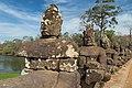2016 Angkor, Angkor Thom, Brama południowa (14).jpg
