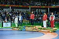 2016 Summer Olympics, Women's Freestyle Wrestling 48 kg awarding ceremony.jpg