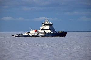 Polaris (icebreaker) - Image: 2017 03 23 Eisbrecher POLARIS im Eis vor Kemi 01