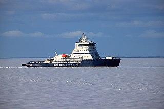 Finnish icebreaker
